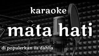 Download Mata hati karaoke cover irma music