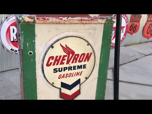 How To Restore An Old Gas Pump's Original Finish And Functionality