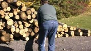Sawbuck Firewood Processor