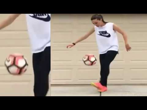 Check the Girls Football Skills