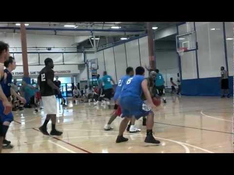 Rochester Sports Garden Basketball Playoff Game Summer 2012