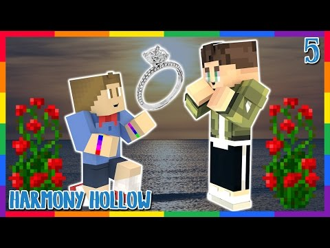 I'M ENGAGED || Harmony Hollow Episode 5 || Modded Minecraft SMP