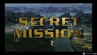 Secret Mission gameplay (PC Game, 1996)