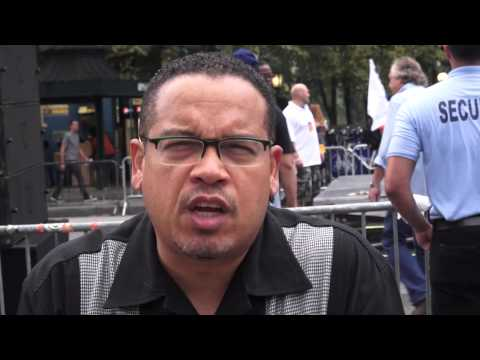 US Rep Keith Ellison Interview: Role of People of Color in the March