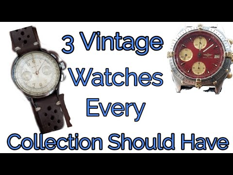 3 Vintage Watches Every Collection Should Have