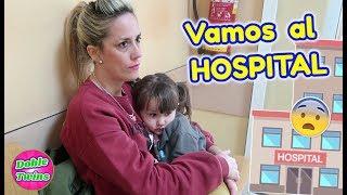 VOY AL HOSPITAL CON MI HIJA DE 2 AÑOS! MARTINA está MAL y vamos a URGENCIAS