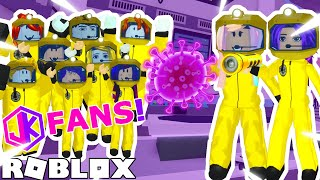 Playing Virus Story 2 with JK FANS! 🦠 / Roblox