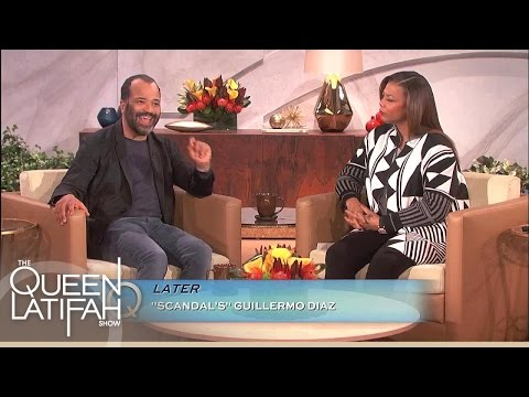 Jeffrey Wright Raises Awareness for #CrushEbolaNow  | The Queen Latifah Show