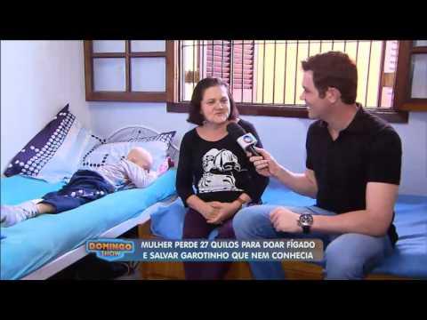 Geraldo Luís visita garoto que recebeu fígado de mulher desconhecida