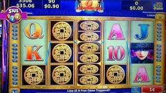 Bonus on China Mystery Xtra Reward Free Spins!!! in San Manuel Casino