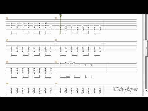 K-On - No Thank You Guitar Tab 【けいおん!!】