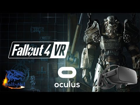 Fallout 4 VR - Oculus Rift con Touch VR - Gameplay ITA