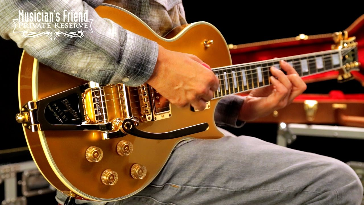 gibson lp fort knox 2016 limited run electric guitar bullion gold youtube. Black Bedroom Furniture Sets. Home Design Ideas