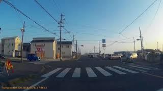 静岡県道260号 磐田停車場長野線[起点から全線] JR磐田駅前から国道150号小島交差点まで。  FHD
