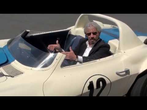 Rick Costa Driving the 1963 Grand Sport #002