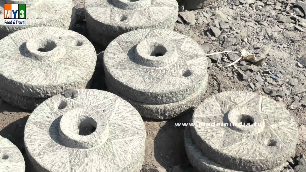 MAKING OF GRINDING STONE