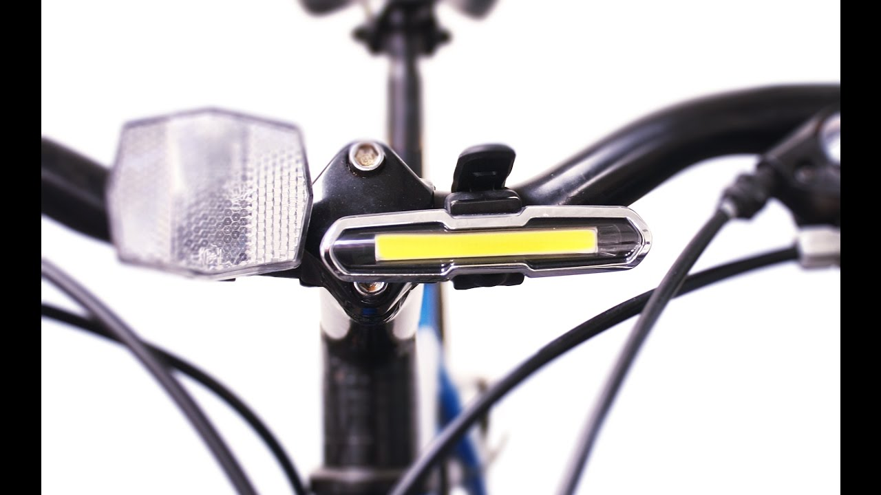 Led Usb Bike Light Rechargeable London Youtube