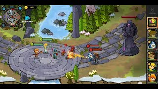 Mini Legends (by Max Games Studios) - strategy game for android - gameplay.