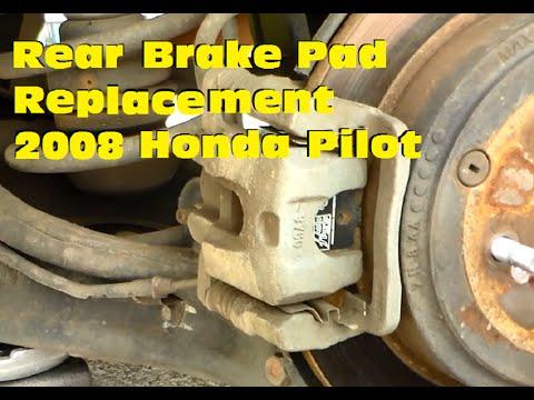 Attractive Rear Brake Pad Replacement  2008 Honda Pilot