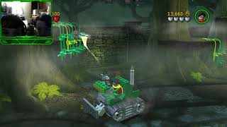 Let's Play Lego Batman the Videogame episode 3 A Poisonous Appointment and The Face Off