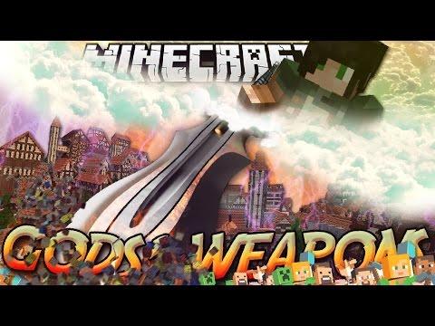 Minecraft ITA - Mod: LE ARMI DEGLI DEI - Spadoni, Martelli, Archi, Anelli, Poteri Divini