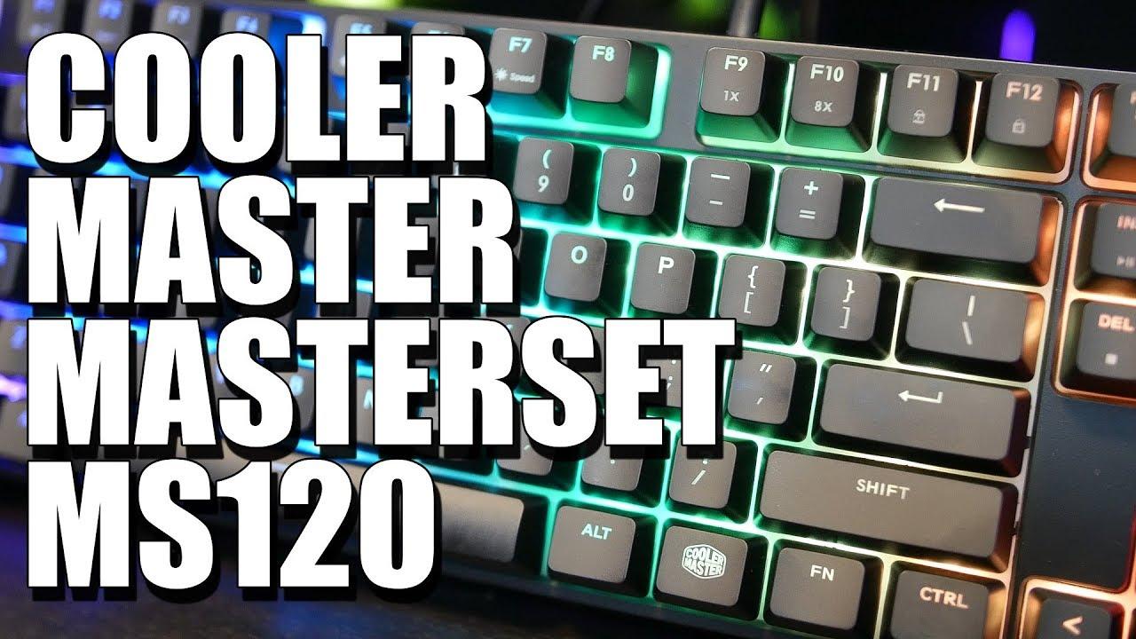 MasterSet MS120 | Cooler Master