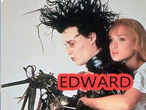 Johnny Depp - Edward mit den Scherenhänden - Review - YouTube  Johnny Depp - E...