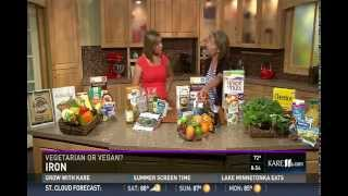 Vegetarian Diets (7/18/15 on KARE 11)