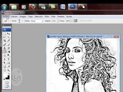 Como Convertir Una Foto A Un Dibujo Youtube
