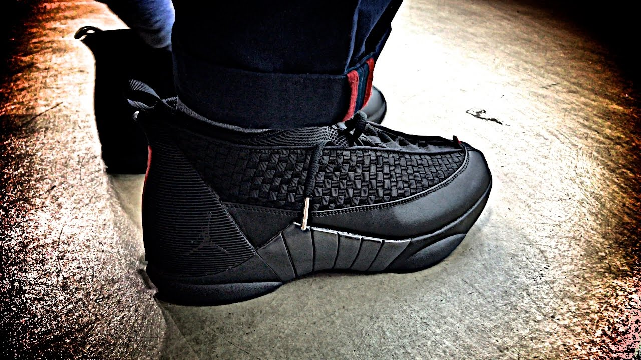 Nike AIR JORDAN 15 RETRO Sneaker Preview and Review and Possible Giveaway?  - YouTube
