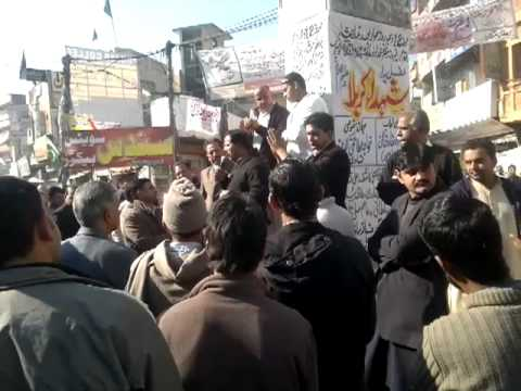 Shaheed Chowk demands answers from PK's ISI - Kotli (2) 15/12/11