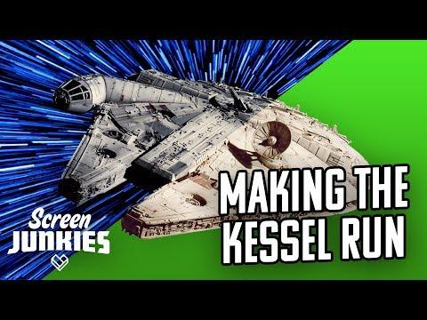 Star Wars VFX Breakdown - Making The Kessel Run