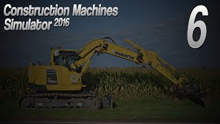Daliśmy radę! ;) #6 - Construction Machines Simulator 2016