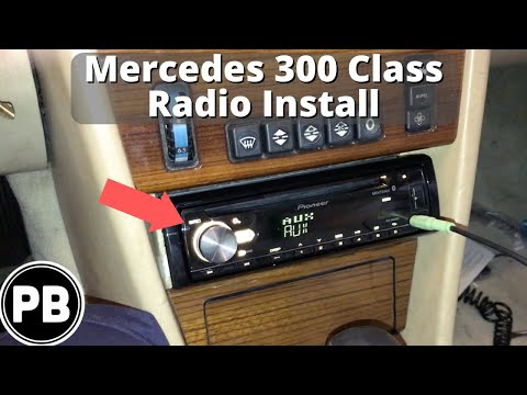 1985 - 1996 Mercedes 300 Class Bluetooth Stereo Install W124 - YouTubeYouTube