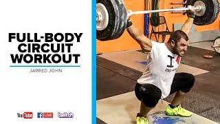 Full-Body Circuit Workout | Jarred John