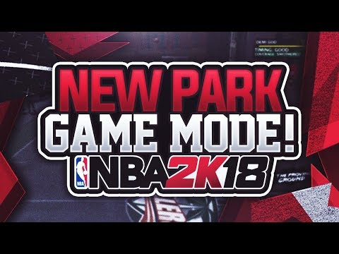 NBA 2K18: PLAYING THE NEW PARK GAME MODE ( FIRST EVER FOOTAGE OF 1 ON 1 COURT) (KING OF THE COURT)