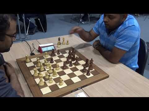 Ruy Lopez, GM Gopal G.N. -  GM Deepan Chakkravarthy J. , Blitz chess