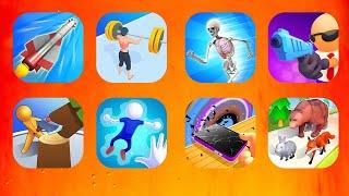 DNA Run,Boom Rockets 3D,ASMR Studio 3D,Pancake Run,Weight Runner 3D,Run & Gun,Evolution Animal