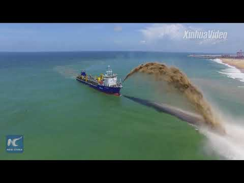 "China-funded Colombo Port City ""a tech marvel"""