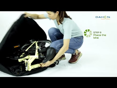 Folding Bike Accessories By Dahon Carry Bag Youtube