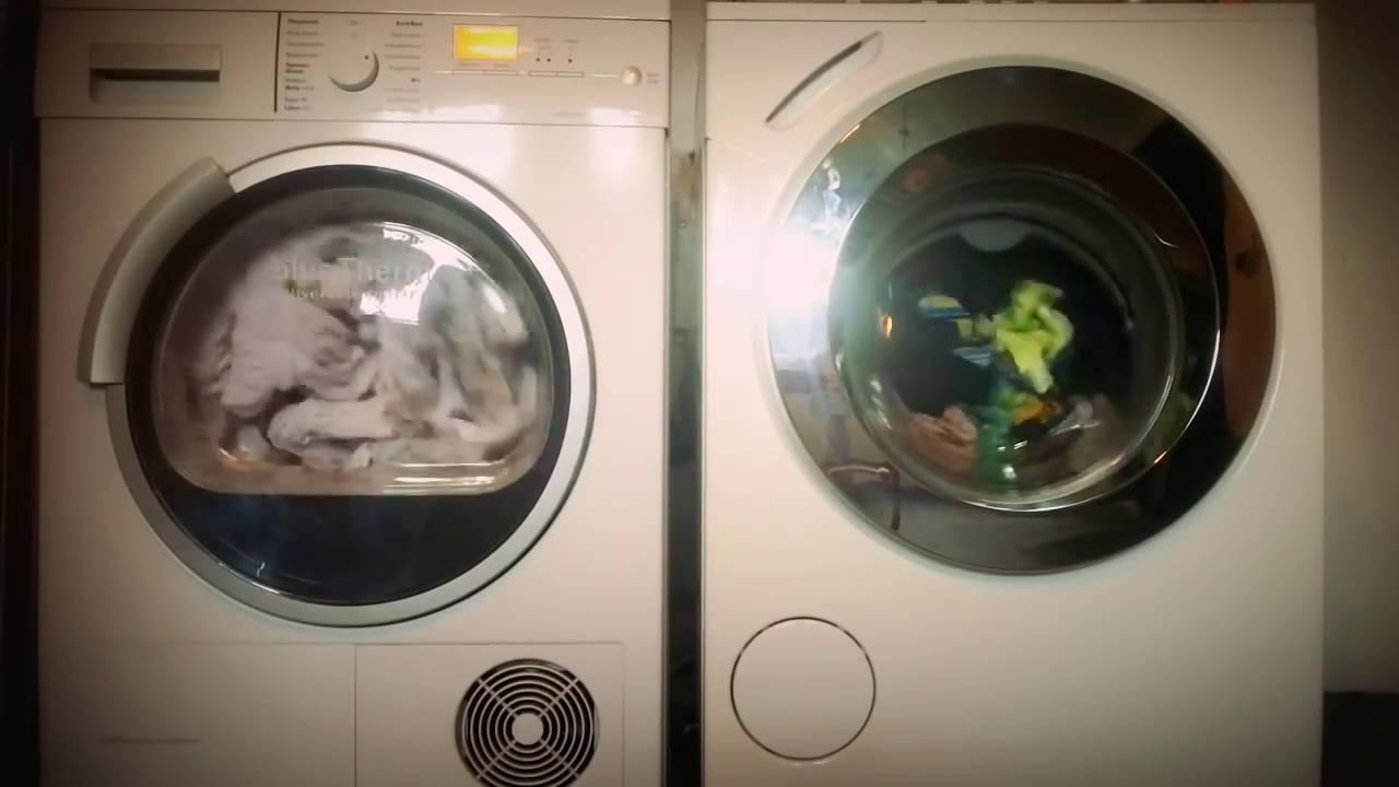 Waschtag miele waschmaschine und siemens trockner komplett youtube