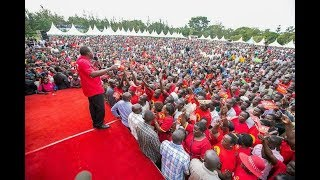 Highlights of the Jubilee Party rally in Nyeri