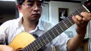 Thang Nguyen guitar solo-Roses from the south by Strauss
