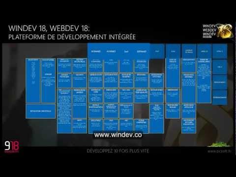 Descubre en 8 mn todas las posibilidades que les da WinDev, WebDev y WinDev Mobile