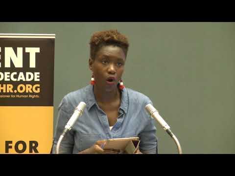 Intervention de Rokhaya Diallo aux Nations Unies : sort des migrant.e.s et violences policières.