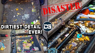 Deep Cleaning The NASTIEST Vehicle I've Ever Seen! | Insane 20 Hour Detailing Transformation