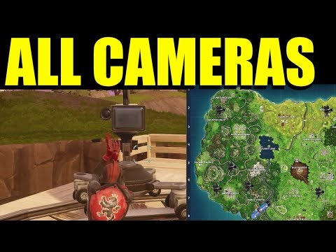 """Dance In Front Of Different Film Cameras""  All Locations Week 2 Challenges Fortnite Battle Royale"