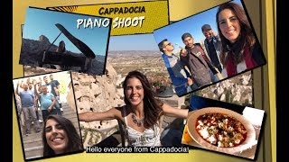 VLOG: Carried a Piano in UNESCO Site Cappadocia & Shot 7 Music Videos in 2.5 Days | AyseDeniz