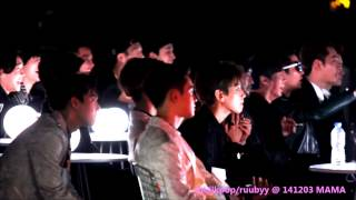 Gambar cover 141203 MAMA in Hong Kong iKon Winner Epik High Reaction to Taeyang 눈코입 Nose Eyes Lips