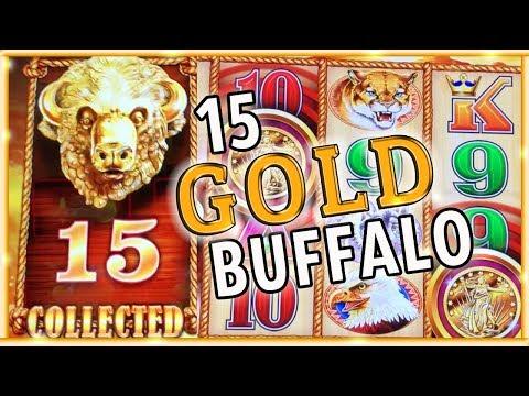 ⭐🐃 Joined the 15 GOLD Buffalo Club! 🎊 ✦ & MEGA Meltdown ✦ Slot Machine Pokies w Brian Christopher